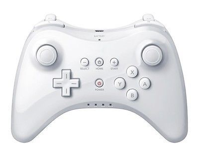 HOT For Nintendo Wii U Pro Bluetooth Wireless  Controller White.. USD 16.79