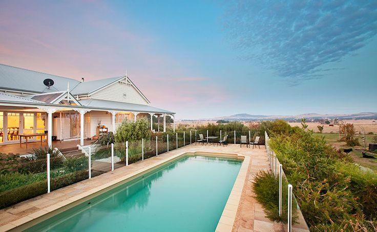 Pavilion Courtyard (Rear view)</br>Waubra NSW