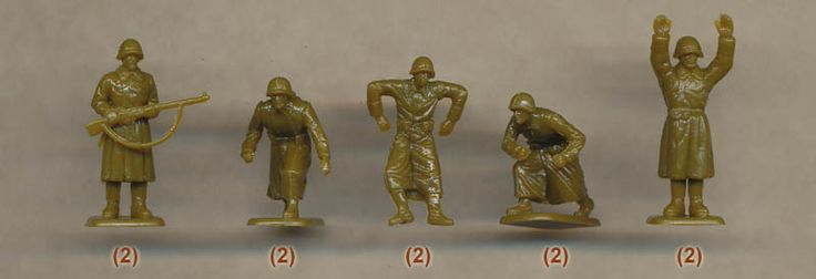 Plastic Soldier Review - Pegasus WWII Russian Infantry in Greatcoats