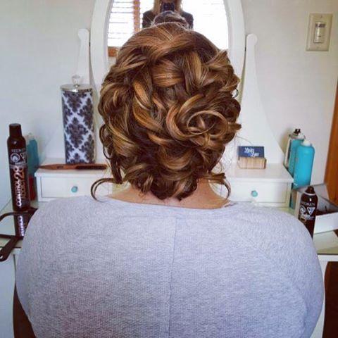 Beautiful up-do for this bride to be!  Hair| Natalia @liliesandlacebeautyco  #hairdo #bridetobe #updo #upstyle #bridalhair #weddinghair #hairstyle #canmoreweddinghairstylist #pretty #hairinspo #hairofinstagram #hairup #hairstylist #llnatalia #mobilebeauty