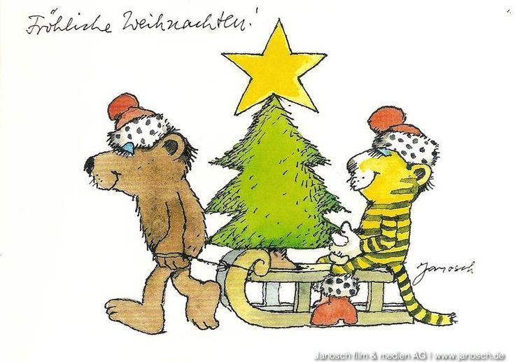 Janosch Weihnachten Ausdrucken