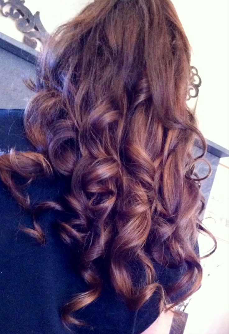 Autum Hair Color Brown Hair With Red Undertones And