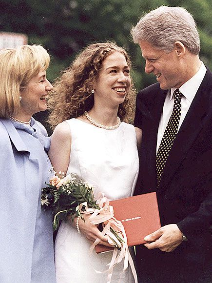 Sweet ~ DADDY'S GIRL photo | Bill Clinton, Chelsea Clinton, Hillary Rodham Clinton