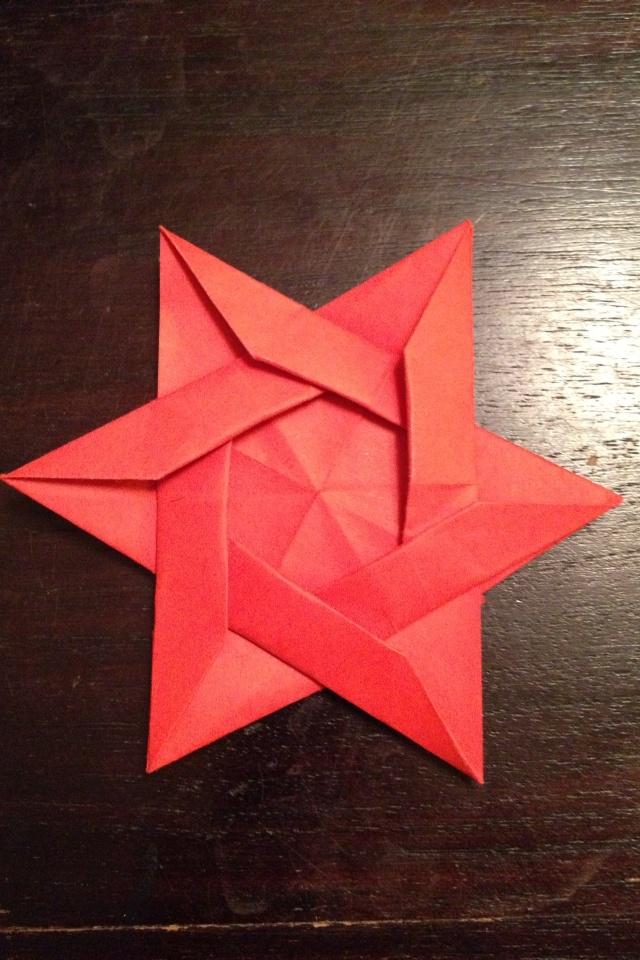 Origami star