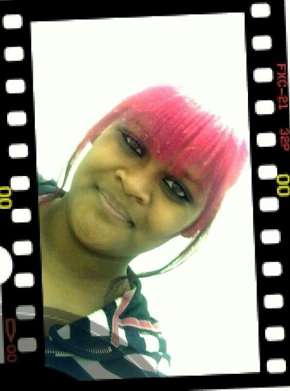 I had pink hair