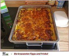 Party - Schnitzel vom Blech ♥10 Schnitzel, Schwein, Huhn oder Pute60 g Mehl3 Gläser Pilze, Mischpilze, Champignons etc.350 g Käse, Gouda (am Stück oder bereits gerieben)2 Becher süße Sahne1 EL Fondor Salz und Pfeffer Paprikapulver, Chinagewürz Die Schnitzel mit Salz, Pfeffer, Paprika und Chinawürzer einreiben, in Mehl wenden und auf ein tiefes, gefettetes Backblech legen.Die Pilze abtropfen lassen und auf dem Fleisch verteilen und ca. 30 Min. im 200°C heißen Ofen backen.Den Käse in St