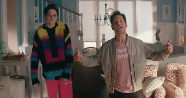 Paul Rudd And Pete Davidson S Rap About Grace And Frankie Should
