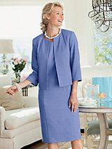 Kathryn Jacket Dress | Appleseeds