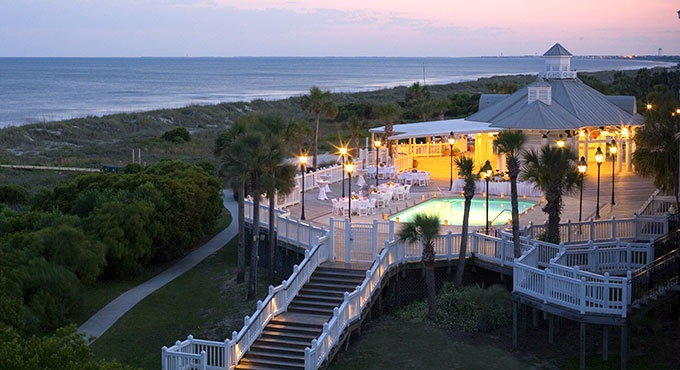 Wild Dunes. Isle of Palms, SC. The Grand Pavilion recreation and function spaces