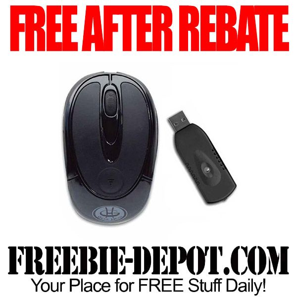 FREE AFTER REBATE – Wireless Computer Mouse - Exp 4/6/14