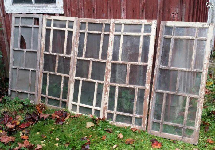 Äldre spröjsade fönster | Skaraborg