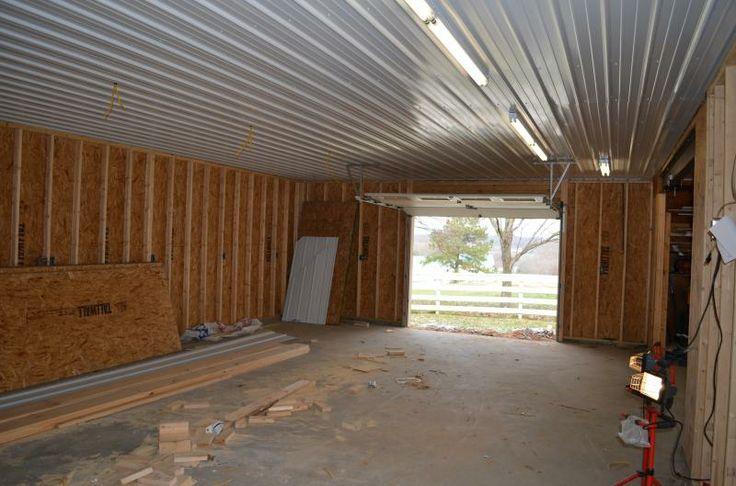 Marvelous Materials For Garage Ceiling  Metal VS 4x8 Panels   The Garage Journal  Board   Garage   Pinterest   Ceiling, Metals And Garage Walls