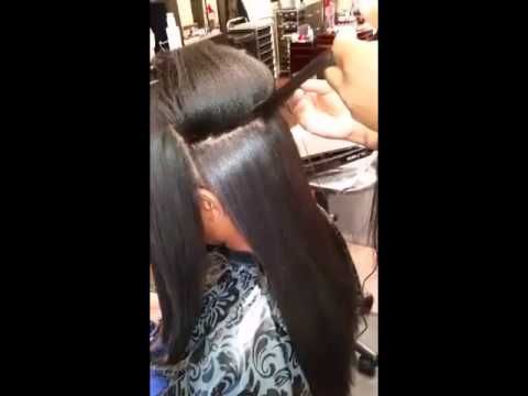 Japanese Hair Straightening/Thermal Reconditioning On Kinky Natural Hair - http://community.blackhairinformation.com/video-gallery/relaxed-hair-videos/japanese-hair-straighteningthermal-reconditioning-on-kinky-natural-hair/