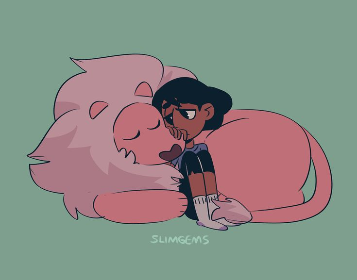 Steven Universe Fan Art! — slimgems:   lion loves connie