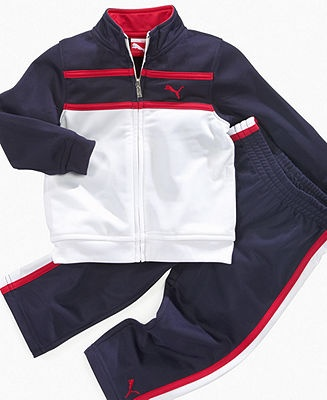 Puma Baby Set, Baby Boys Track Jacket and Pants - Kids Baby Boy (0-24 months) - Macys