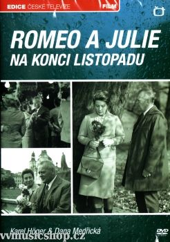 Film České televize Romeo a Julie na konci listopadu na DVD z Edice České televize.