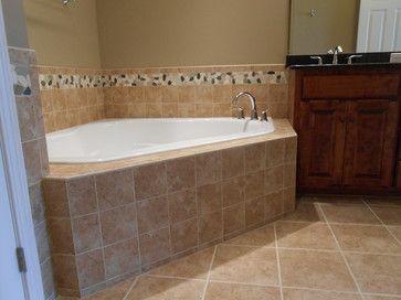 Castlebridge Homes Master Bathroom Jacuzzi Tile Work By Mckean S