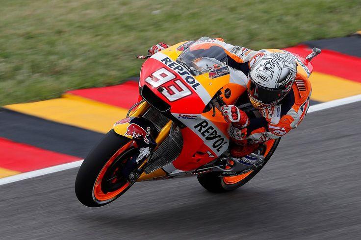 Aggiornamento Diretta MotoGP Germania. Sarà la Honda di Marc Marquez a partire in pole position sulla griglia di partenza del Gp di Germania la cui partenz