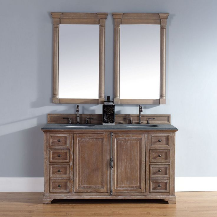 Fresh 60 Inch Double Vanity Cabinet Only