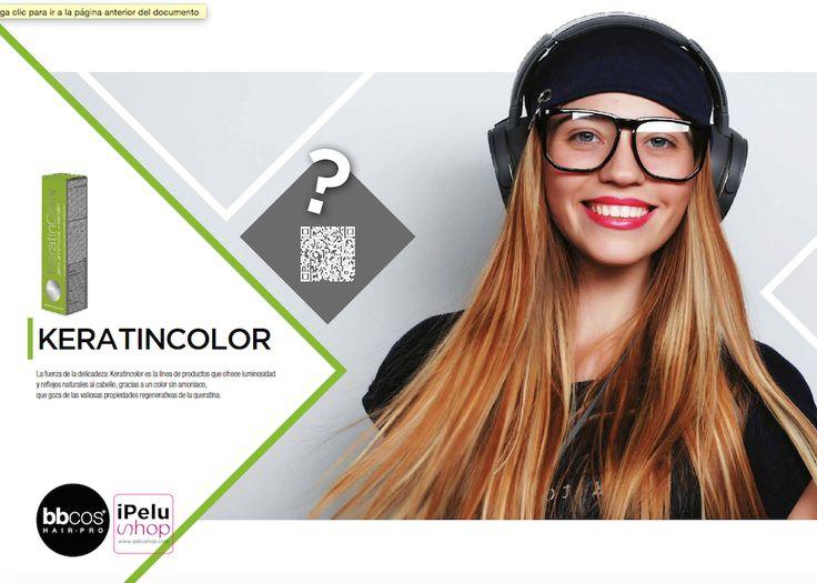 KERATINCOLOR La fuerza de la delicadeza: Keratincolor es la línea de productos que ofrece luminosidad y reflejos naturales al cabello, gracias a un color sin amoniaco, que goza de las valiosas propiedades regenerativas de la queratina
