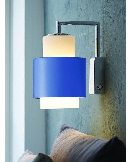 Herstal Y1949 Seinävalaisin  sininen/valkoinen