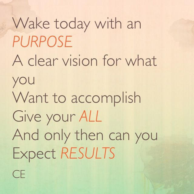 Do you have a clear VISION of your goals??