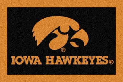 Iowa Hawkeyes 33 x 45 Team Door Mat: Get in the Game… with an NCAA Iowa Hawkeyes Team MatTM from… #sports #sportsshopping #sportswear