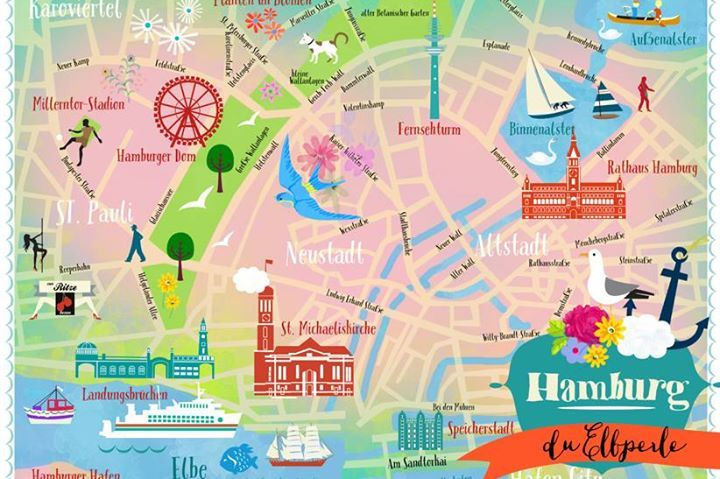 12 best Hamburg graphic images on Pinterest | Hamburg, Hamburg meine ...