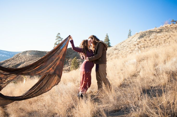 Knox Mountain engagement session!