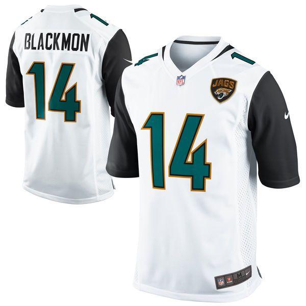 Justin Blackmon Jacksonville Jaguars Nike Youth Game Jersey – White - $22.99