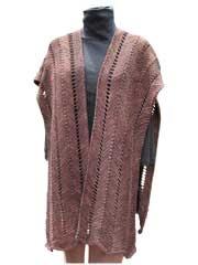 Ruana knit Pattern: Knits Patterns, Knit Patterns