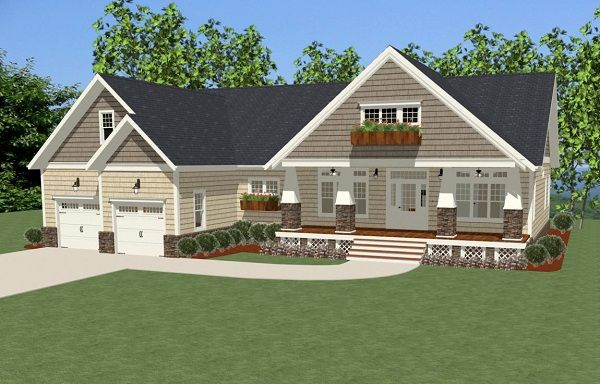 1000 ideas about rambler house plans on pinterest for Carolina cottage house plans