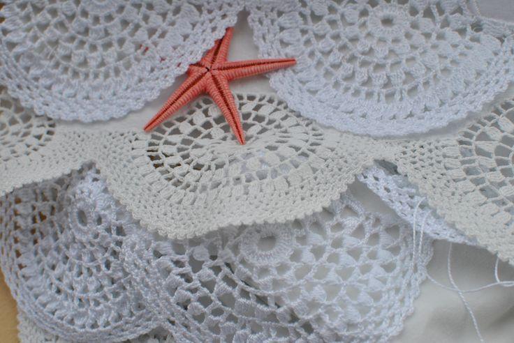 Crochet puntillas para toallas crochet pinterest - Puntillas para sabanas ...