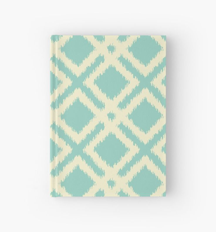 Ikat squares pattern - teal & cream by LunaPrincino #design #graphic #print #prints #redbubble #gift #idea #ideas #stationery #notebook #graphics #cool #creative #for #office #style #stylish #pattern #geometric #geometry #lines #trendy #trend #ornament #ornate #pretty #beautiful #beige #and #turquoise #teal #cream #ivory #ikat #squares #diagonal #diamonds #school #buy #shopping #abstract #carpet #motif #textile #vintage #modern #embroidery #imitation