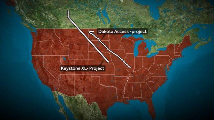 Obama had Keystone XL, een pijpleiding van Canada naar de Golf van Mexico, juist geschrapt na grote bezwaren van de milieubeweging.