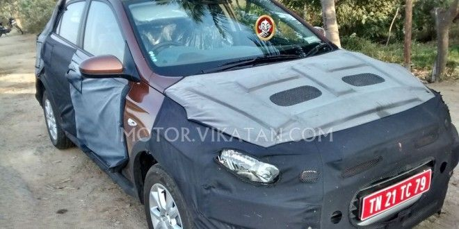 Hyundai i20 Crossover India Launch In April; Spotted Again http://www.carblogindia.com/hyundai-i20-crossover-india/