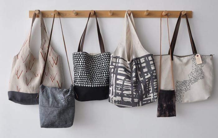 inspiration to add to the long list of bags I want to make when the baby gives me more than 3 minutes...