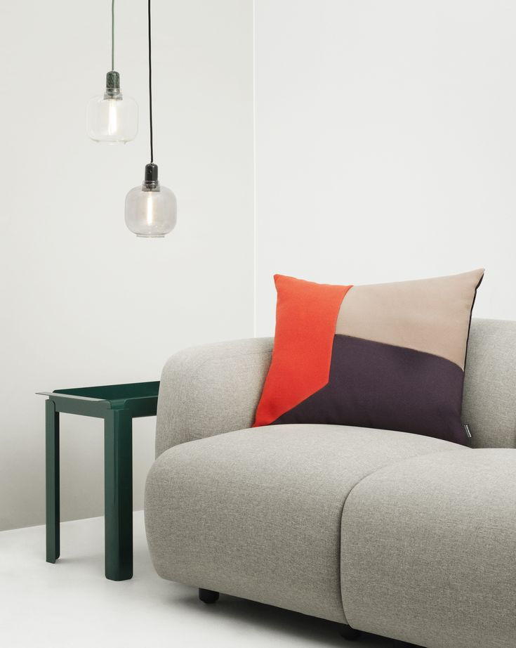 Box Table, Angle Cushion, Amp Lamp, Swell Sofa | Normann Copenhagen