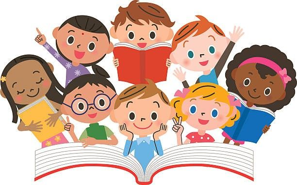 Image Result For Child Clipart Kids Reading Books Kids Reading Kids Learning Tools