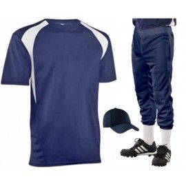 COLOR BLOCK MIX AND MATCH BASEBALL UNIFORM SET - 1033/SET