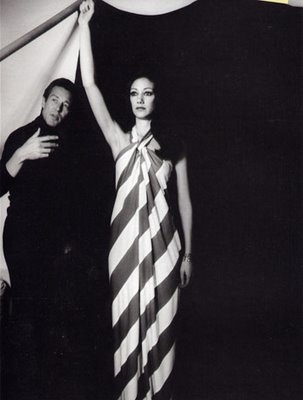 Halston Striped Dress