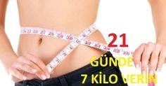 21 Günde Yağ Yakarak 7 Kilo Verme | Sağlıklı Zayıfla Mutlu Kal