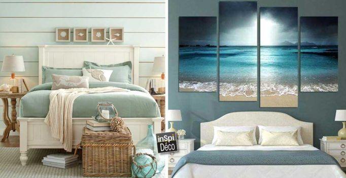 une t te de lit ambiance bord de mer 20 id es pour vous inspirer id es d co pour la. Black Bedroom Furniture Sets. Home Design Ideas