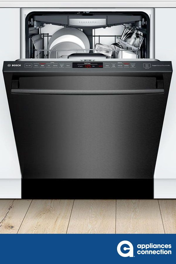 Bosch Shxm78z54n 800 Series 24 Inch Black Stainless Steel Built In Fully Integrated Dishwasher Home Appliances Steel Tub Fully Integrated Dishwasher
