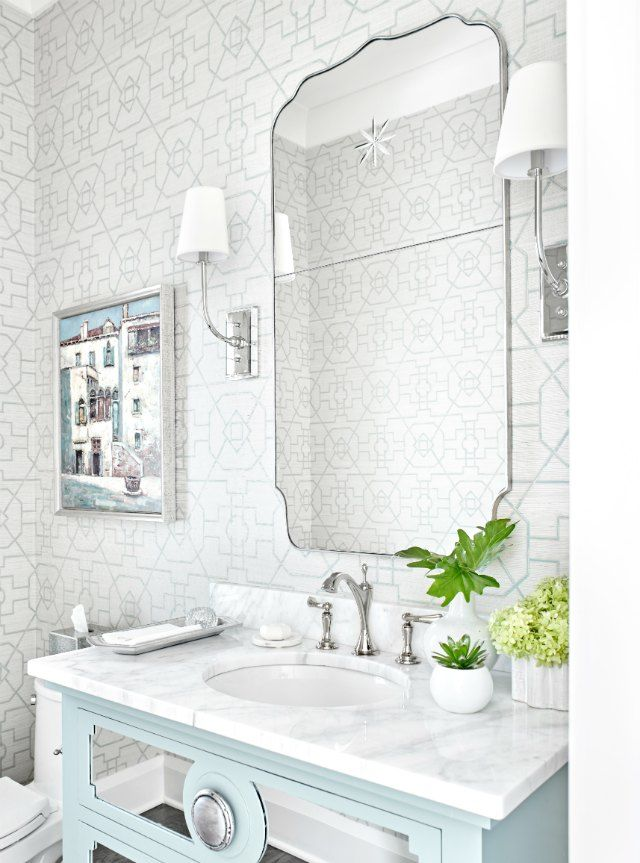 15 Stylish Bathrooms That Celebrate Pattern Led Curtain Lights