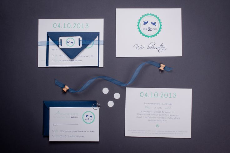 wedding suite, edge painted invitation, RSVP and belly band