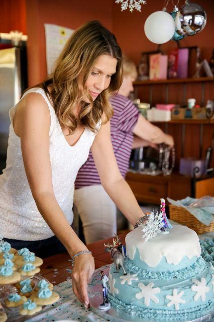 Fai da te torta congelata di compleanno