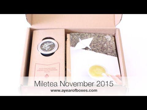 Miletea Unboxing November 2015
