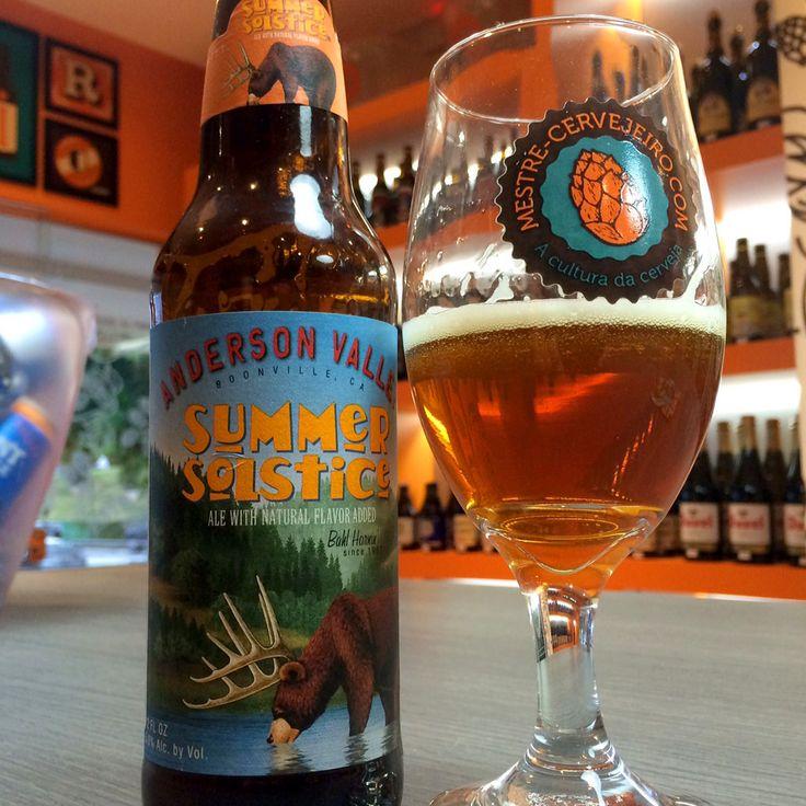 Anderson Valley Summer Solstice #cerveja #beer