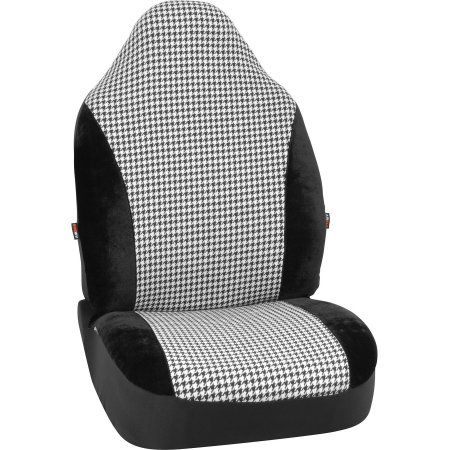 Buy Auto Drive Houndstooth Seat Cover at Walmart.com